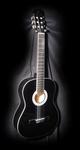 Gomez 001 klassieke gitaar Zwart