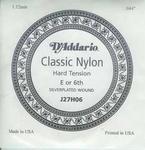 D'addario classic nylon J27H06 losse lage E snaar